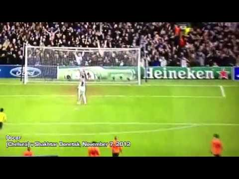 Today on YouTube: 101 of the best goals scored in the 2012/13 football season