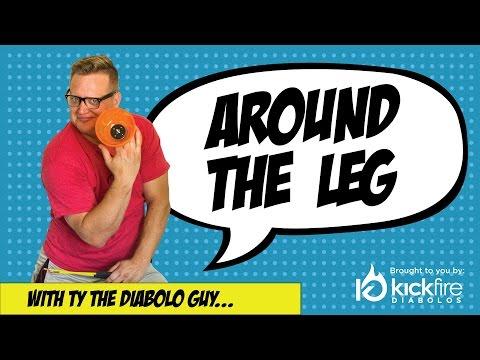 Around the Leg - Diabolo Tricks for Beginners | KickFire Diabolos | Chinese YoYo Tricks