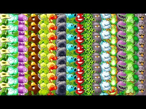 MAX LEVEL - All Tiles POWER-UP! Plants vs Zombies 2 Ultimate Power