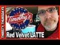 Timothy's World Coffee ★ Red Velvet Latte Review