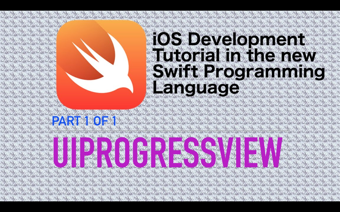 UIProgressView Example in Swift 3 - YouTube