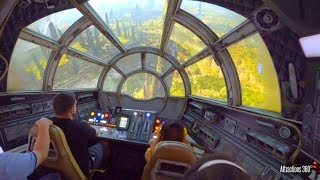 Star Wars Millennium Falcon Ride - Disneyland's Galaxy's Edge