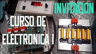 Invitación al Curso de Electronica I  Electroclub
