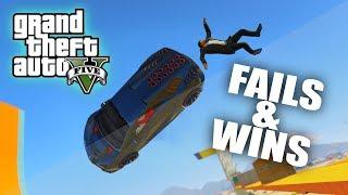 GTA 5 FAILS & WINS #1 (BEST GTA V Funny Moments Compilation)