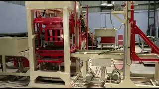Fully Automatic Fly Ash Brick Making Machine Video