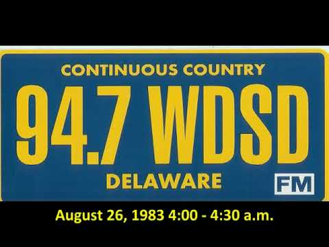 WDSD 94.7 Dover, Delaware 1983 overnight