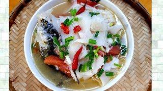 Canh Măng chua nấu Cá    ngon cơm cho cả nhà ngày mưa   Thanh Tâm Food