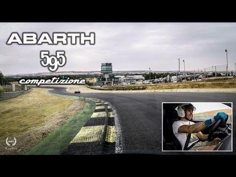 Juan Santiago - ABARTH 595 Competizione - JARAMA Racing Fest 2017