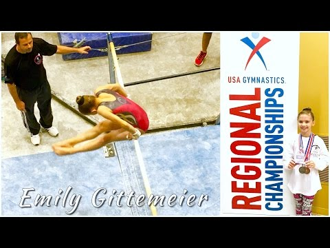 Gymnastics Regional Championships | Bars Level 8 | Emily Gittemeier 2016