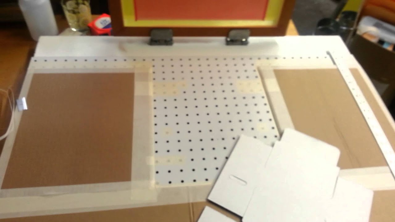 Diy Vacuum Table Screen Printing Vacuum Table For Screen Printing Boxes Youtube