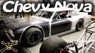 1964 Chevy Nova Body On A Hamke Late Model Race Car Chassis