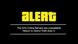GTA 5 ONLINE IS DOWN! (WARNING)