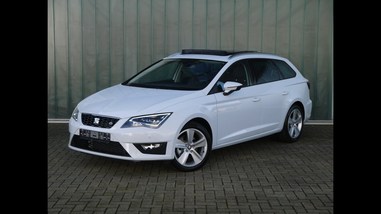 seat leon st voordeel 1 4 ecotsi dsg 7 fr connect youtube. Black Bedroom Furniture Sets. Home Design Ideas