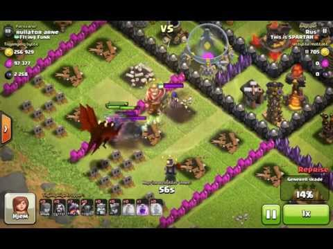 Epic defense with witches -Clash of Clans Master 3