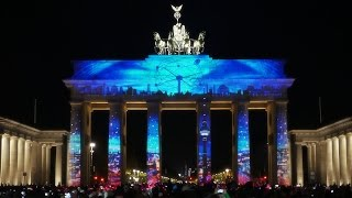 1st Berlin Festival of Lights Award - Intro Mapping at the Brandenburg Gate