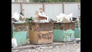 видео Контейнерные мусоровозы