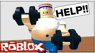 ROBLOX - Escape Gym Obby [iOS Gameplay]