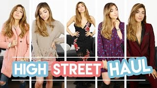ASOS & HIGH STREET HAUL + TRY ON! | Amelia Liana