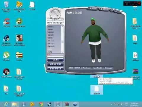 Como Cambiar Los Personajes De Gta San Andreas Pc