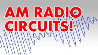 Amplitude Modulation tutorial and AM radio transmitter circuit