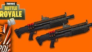 Double Heavy Shotgun/Arma jeme e preferume |FORTNITE|