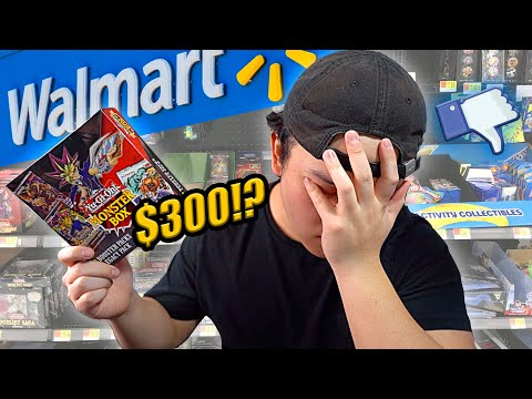 WALMART'S MOST EXPENSIVE YU-GI-OH! MYSTERY BOX! (DO NOT BUY)