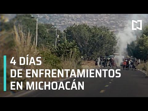 Enfrentamientos en Michoacán 2020 | CJNG enfrenta a policías en Michoacán - En Punto