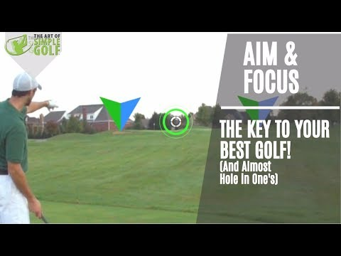 Golf Tips | Aim and Focus The Principles To Score Low (almost hole in one)