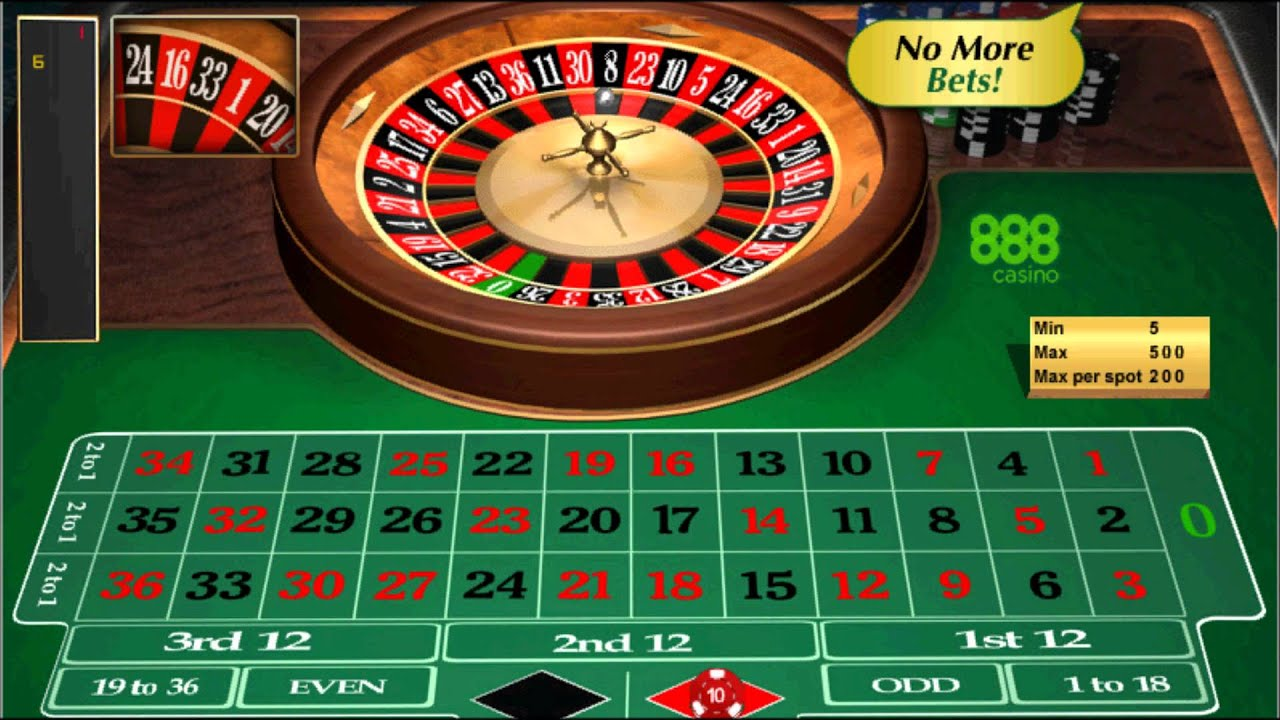 888 Casino Roulette Login
