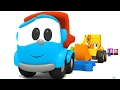 Leo el Pequeño Camión - Carritos para niños - Camiones y Excavadoras - La Excavadora Max