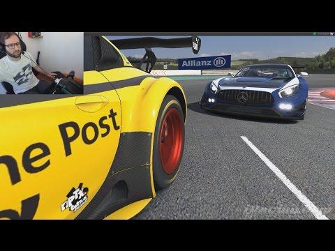 2016S2W3 Premières courses GT3 en Mercedes AMG sur Spa ! sur iRacing