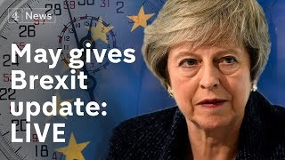 May gives Brexit update to MPs  | #BREXIT