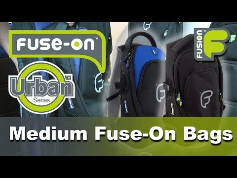 Urban Medium Fuse On Backpack by FusionBags.com