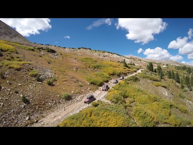Pitkin to Pomeroy Lakes (shot with DJI Osmo and 3DR Solo)