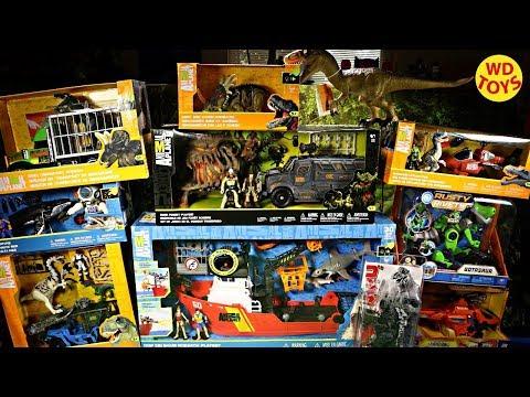 New Animal Planet Dinosaur Toys Giant Toy Shopping Spree Toys R Us Jurassic World For Youtube Kids