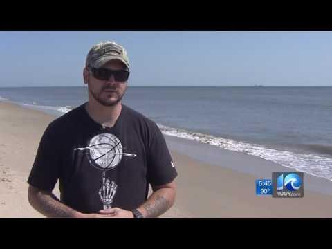 Release of sea turtle helps veteran honor fellow soldier