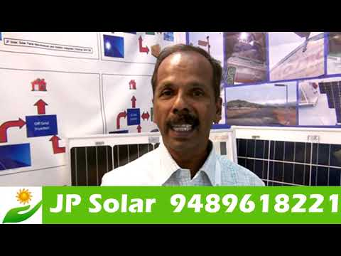 JP SOLAR | New Flexible Solar Panel Product Intro In Chennai