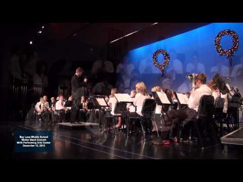 2012 - 12 Bay Lane Middle School Band - Boomerang Blues
