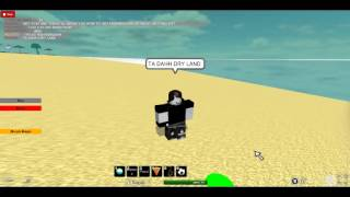 how to get under water without getting wet-roblox
