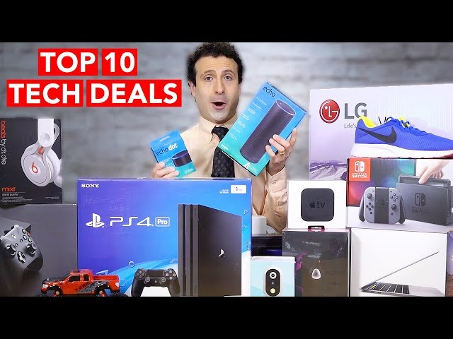 Top 10 Black Friday 2017 Tech Deals