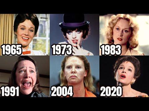 Every Best Actress Oscar Winner (1927-2020)
