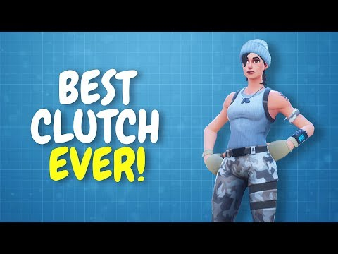 BEST CLUTCH EVER!   Insane Building Victory! (Fortnite)