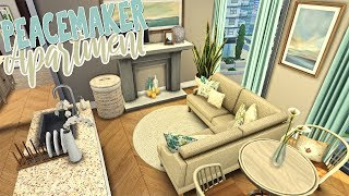 Peacemaker Apartment \\ CC Showcase    The Sims 4 Apartment Renovation: Speed Build