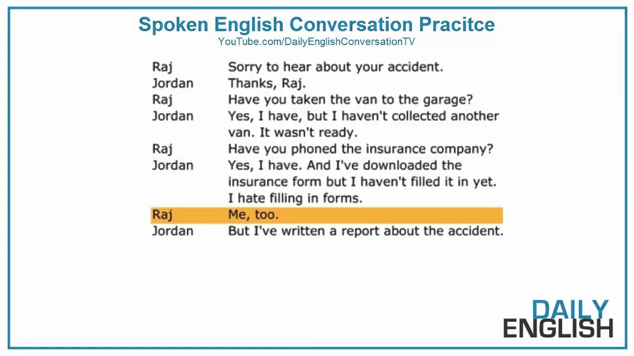 English Short Conversation - Easy English Conversation ...