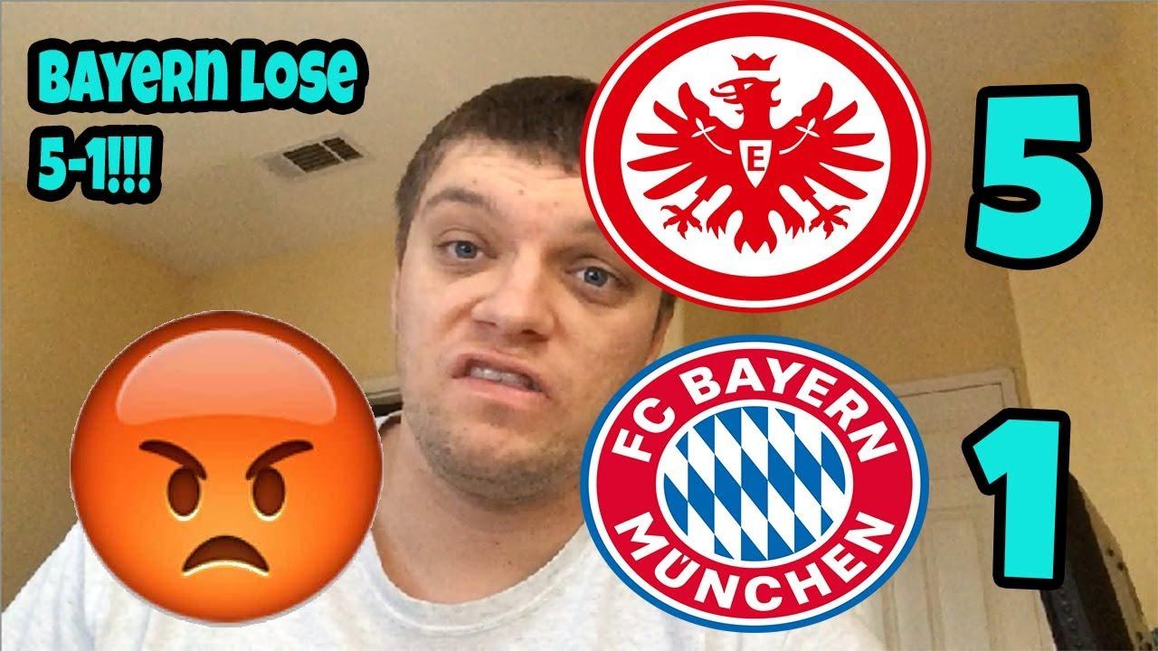 Eintracht Frankfurt vs Bayern Munich (5-1) 2019-2020 ...