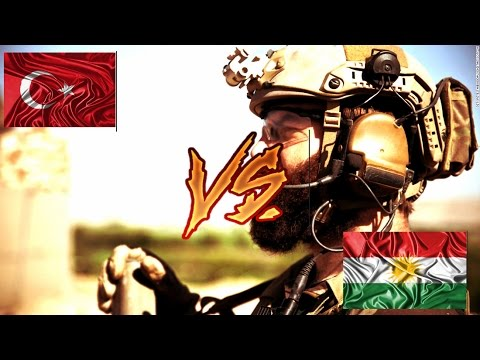 Turkey vs Kurdistan Army 2017 (HD)