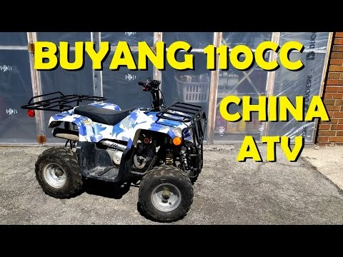Buyang 110cc China Atv - Complete Tune-Up