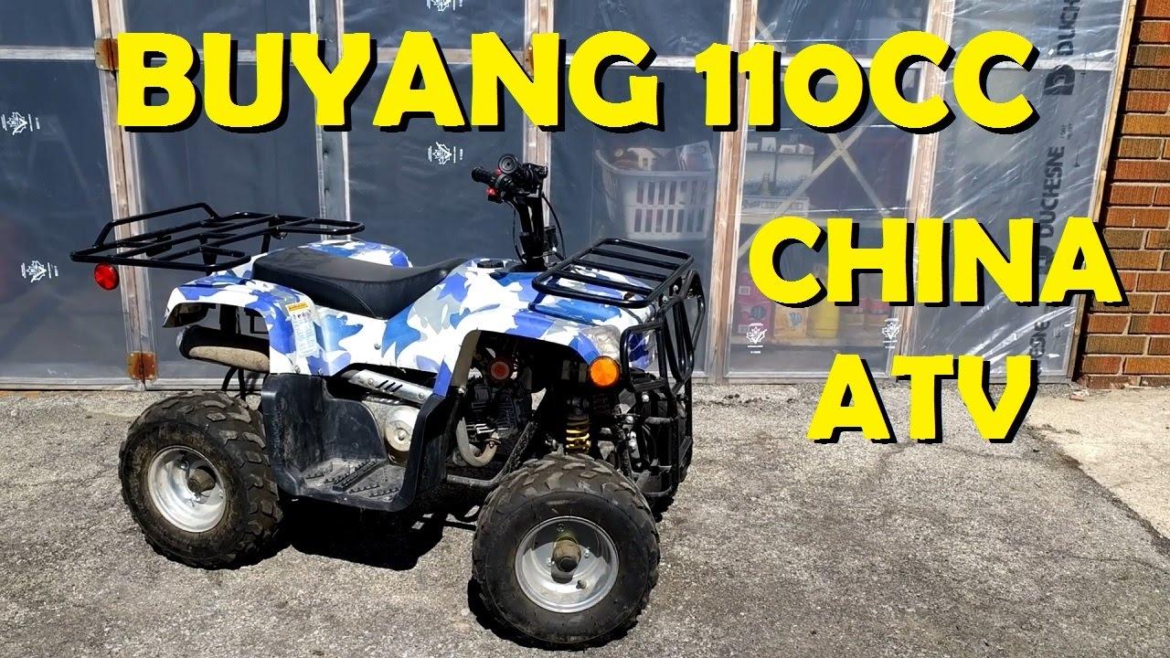 Buyang 110cc China Atv - Complete Tune-up