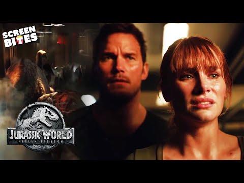 Time To Say Goodbye | Jurassic World: Fallen Kingdom | SceneScreen