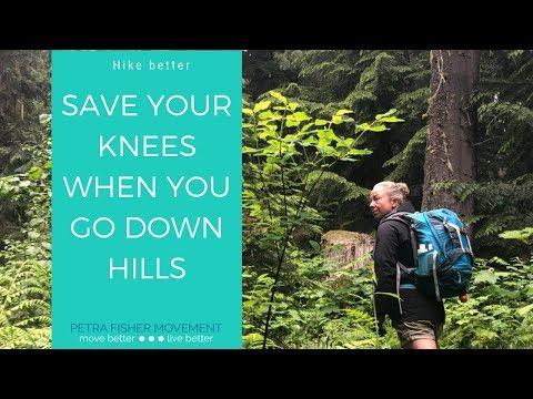 Downhill Hiking Knee Saver